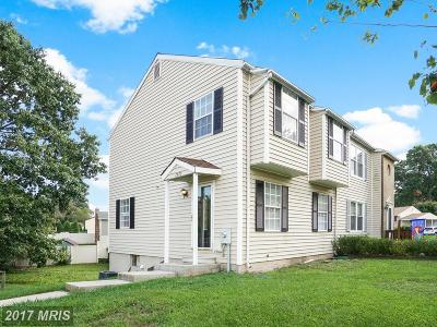 Glen Burnie Duplex For Sale: 7973 Oakwood Road