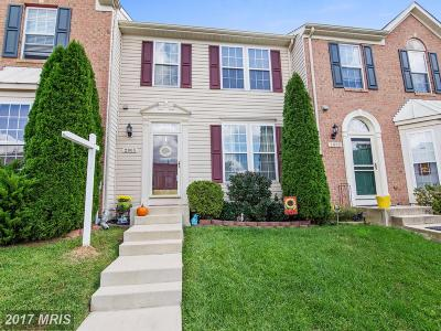 Odenton Townhouse For Sale: 2805 Settlers View Drive