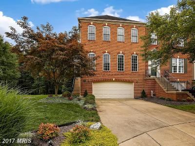 Anne Arundel Townhouse For Sale: 126 Riverton Place