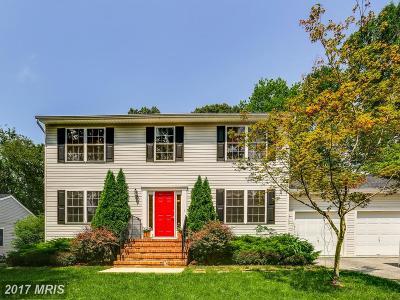 Anne Arundel Single Family Home For Sale: 1016 Dockser Drive