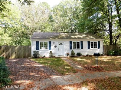 Glen Burnie MD Single Family Home For Sale: $209,900