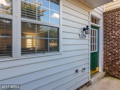Crofton MD Townhouse For Sale: $218,900