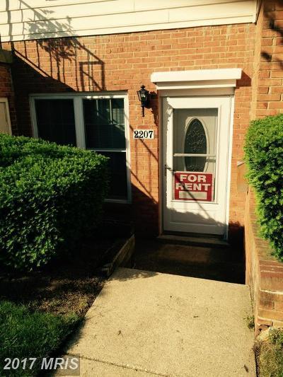 Crofton Rental For Rent: 2207 Aberdeen Drive