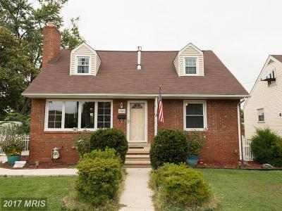 Glen Burnie Single Family Home For Sale: 7545 Baltimore Annapolis Boulevard