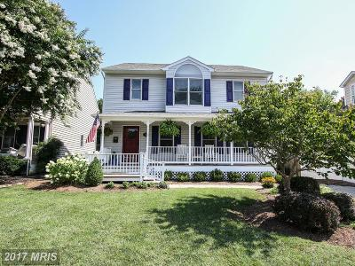 Annapolis Single Family Home For Sale: 1510 McGuckian Street