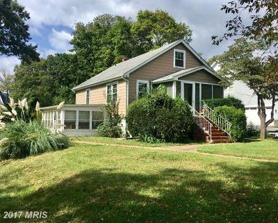 Annapolis Single Family Home For Sale: 411 Monterey Avenue