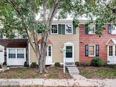 Crofton MD Townhouse For Sale: $262,000