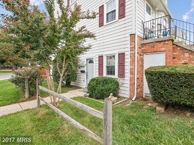 Crofton MD Townhouse For Sale: $210,000