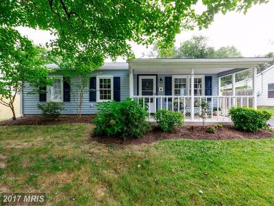 Glen Burnie Single Family Home For Sale: 1140 Wynbrook Road