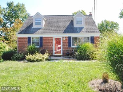 Linthicum Single Family Home For Sale: 523 Greenwood Road