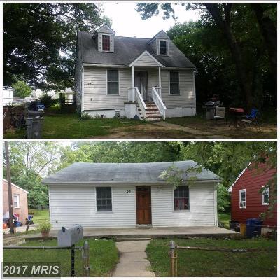 Annapolis Duplex For Sale: 27 Hicks Avenue