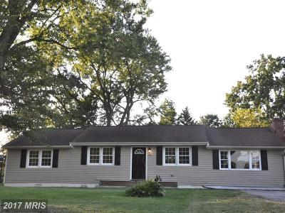 Anne Arundel Single Family Home For Sale: 5872 Deale Churchton Road