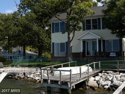 Shady Side Single Family Home For Sale: 1601 Hunters Lane