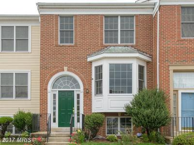 Odenton Townhouse For Sale: 288 Saint Michaels Circle