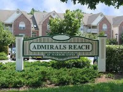 Anne Arundel Condo For Sale: 621 Admiral Drive #206