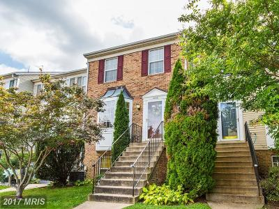 Anne Arundel Townhouse For Sale: 1006 Murdoch Court