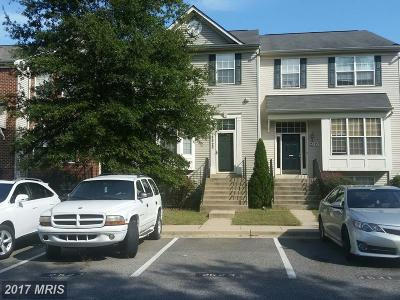 Odenton Townhouse For Sale: 2523 Blue Water Boulevard