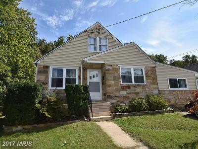 Odenton Single Family Home For Sale: 501 Monterey Avenue