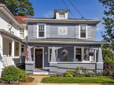 Annapolis Single Family Home For Sale: 33 Lafayette Avenue
