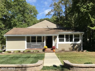 Annapolis Single Family Home For Sale: 3271 Arundel On The Bay Road