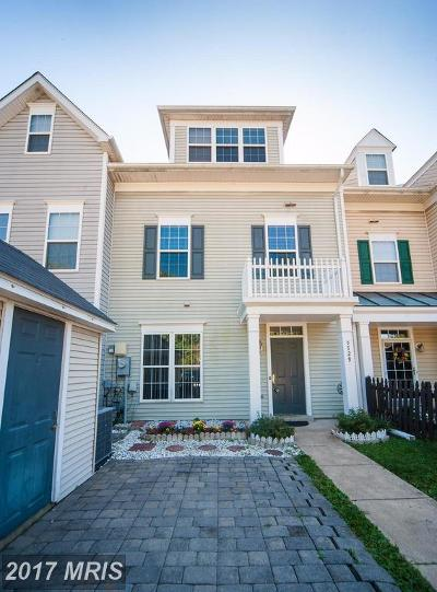 Piney Orchard, Chapel Grove Townhouse For Sale: 8729 Spring Brook Way