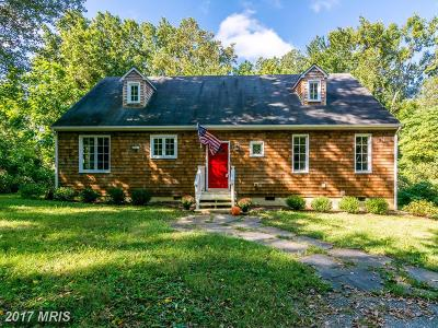 Annapolis Single Family Home For Sale: 1610 Clay Hill Road