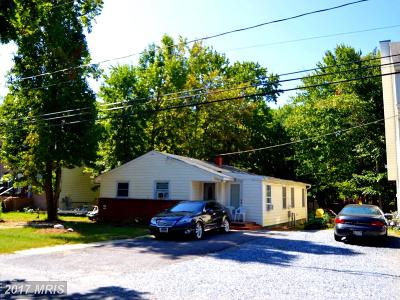 Annapolis Single Family Home For Sale: 3504 Cohasset Avenue