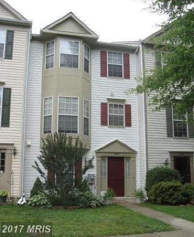 Crofton Townhouse For Sale: 2597 Ambling Circle