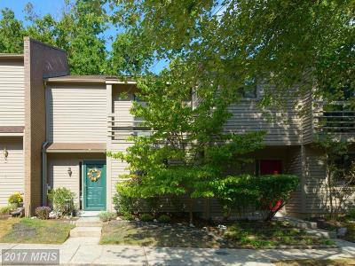 Annapolis Townhouse For Sale: 4 Belvedere Court