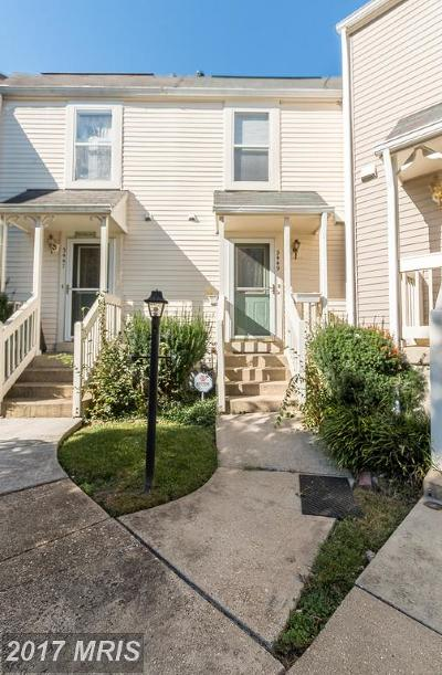 Laurel Townhouse For Sale: 3449 Lindenwood Drive