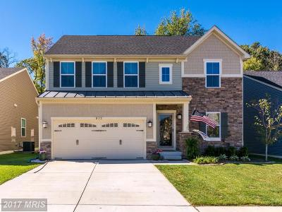 Glen Burnie Single Family Home For Sale: 813 Creekside Village Boulevard