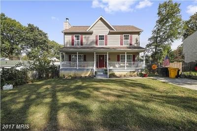 Edgewater, Mayo Single Family Home For Sale: 1603 Hilltop Road