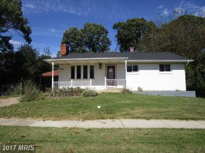 Anne Arundel Single Family Home For Sale: 556 Crestpark Drive