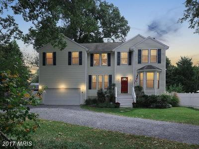 Annapolis Single Family Home For Sale: 792 Parkwood Avenue