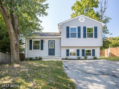Annapolis Single Family Home For Sale: 1406 Jousting Court