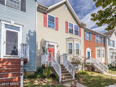 Annapolis Townhouse For Sale: 623 Tripp Creek Court