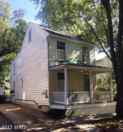 Annapolis Single Family Home For Sale: 409 Third Street