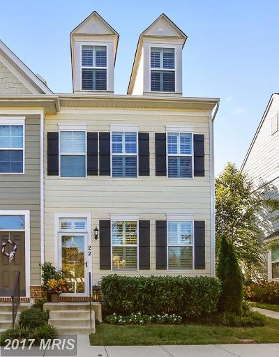 Annapolis Townhouse For Sale: 22 Boucher Place