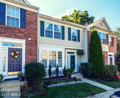 Annapolis Townhouse For Sale: 838 Stonehurst Court