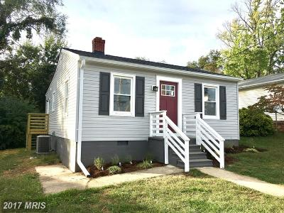 Annapolis Single Family Home For Sale: 34 Parole Street