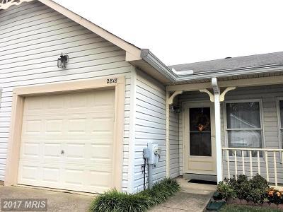 Annapolis Townhouse For Sale: 2818 Berth Terrace