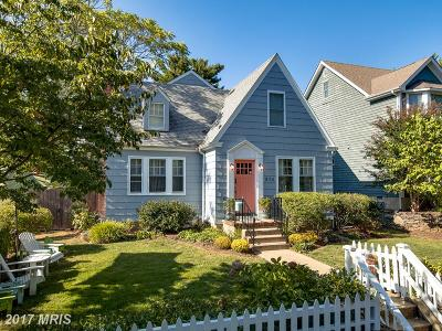 Annapolis Single Family Home For Sale: 830 Chester Avenue