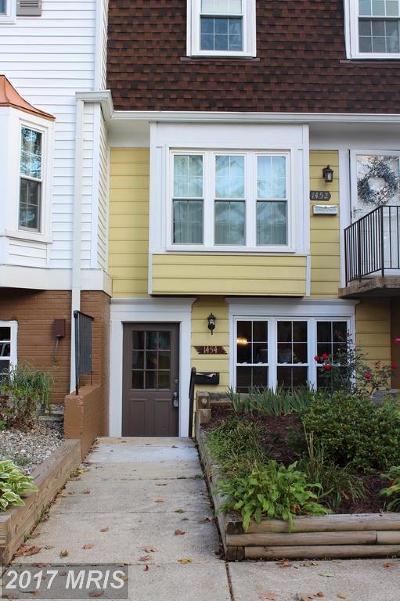 Townhouse For Sale: 1454 Mara Vista Court