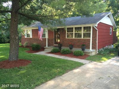 Odenton Single Family Home For Sale: 505 Maple Ridge Lane