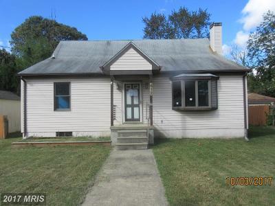 Glen Burnie Single Family Home For Sale: 512 Dogwood Drive