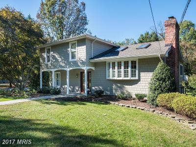 Annapolis Single Family Home For Sale: 1532 Circle Drive