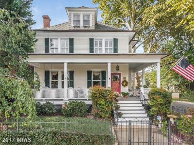 Annapolis Single Family Home For Sale: 37 Franklin Street