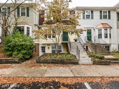 Crofton Townhouse For Sale: 1545 Lowell Court