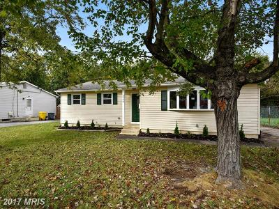 Laurel Single Family Home For Sale: 3396 Yellow Springs S