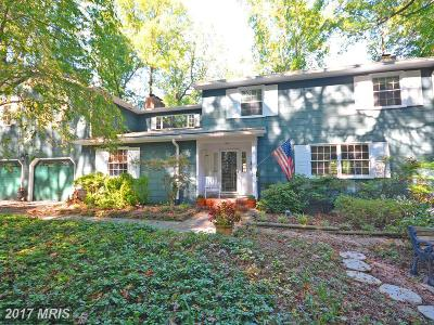 Annapolis Single Family Home For Sale: 912 Ravenshead Hill